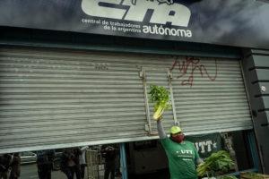 En la ciudad Autónoma de Buenos Aires también se desarrolló la jornada de reclamos. Las actividades se replicaron en todo el pais.